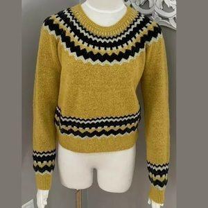 Zara Knit Sweater Mustard Bloggers Fav Size S